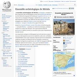 Ensemble archéologique de Mérida