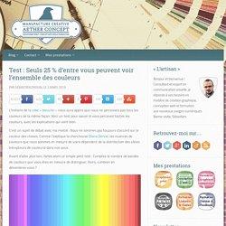 Test : Seuls 25 % d'entre vous peuvent voir l'ensemble des couleurs