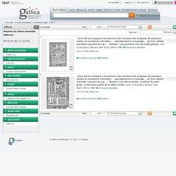 1488 : Livre fait et composé à la mémoire des vertueux fais et gestes de plusieurs nobles et excellentz chevaliers... spécialement à la louenge... du très vaillant chevalier Lancelot du Lac