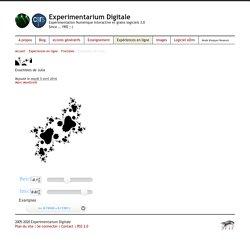 Ensembles de Julia - Experimentarium Digitale