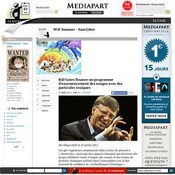 Bill Gates finance un programme d'ensemencement des nuages avec des particules toxiques