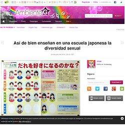 Así de bien enseñan en una escuela japonesa la diversidad sexual