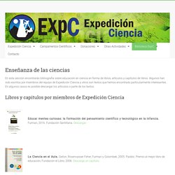 Enseñanza de las ciencias - Expedición Ciencia