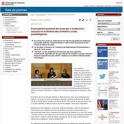 Ensenyament presenta les eines per a la detecció i actuació en la dislèxia des d'infantil a cicles postobligatoris