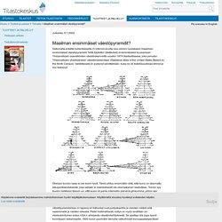 Tietoaika - Maailman ensimmäiset väestöpyramidit?