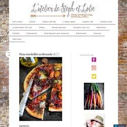 Pizza ensoleillée au Bresaola :)