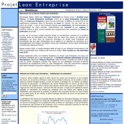 Projet Lean Entreprise - WebHome