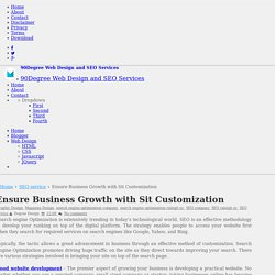 Ensure Business Growth with Sit Customization
