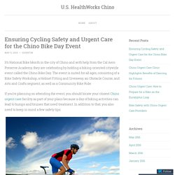 Ensuring Cycling Safety and Urgent Care for the Chino Bike Day Event