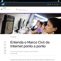 Entenda o Marco Civil da Internet ponto a ponto