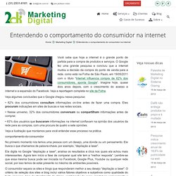 Entendendo o comportamento do consumidor na internet