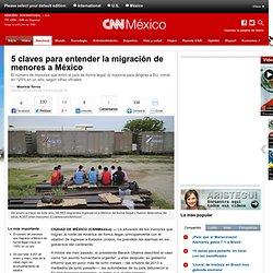 5 claves para entender la migración de menores a México - Nacional