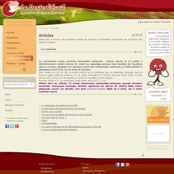 Articles LSF - Langue des Signes Française
