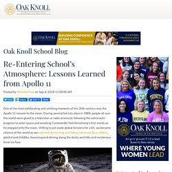 Re-Entering School's Atmosphere: Lessons Learned from Apollo 11