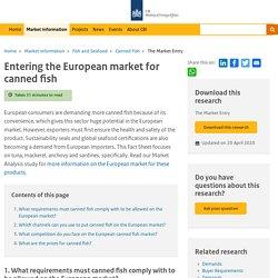 CBI_EU 20/04/20 Entering the European market for canned fish