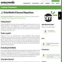 Download EnterMedia 8 - EnterMedia