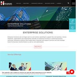 Enterprise Solutions, Enterprise Application Services – Hexaware