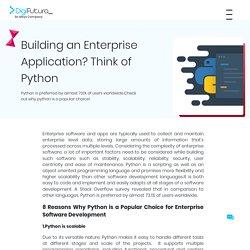 Building an Enterprise Application? Think of Python