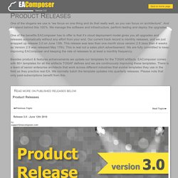 Release 3.0 - June 12th 2016 - Enterprise Architecture Tools - EAComposer - Product Releases