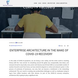 Enterprise Architecture In The Wake Of Covid-19 Recovery