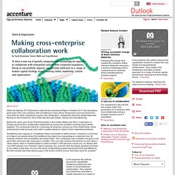 Making cross-enterprise collaboration work - Accenture Outlook