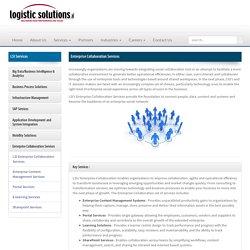 Enterprise Collaboration Service Providers