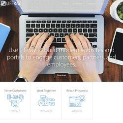 Liferay.com - Enterprise open source portal and collaboration software