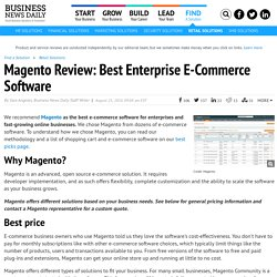 Magento Review: Best Enterprise E-Commerce Software