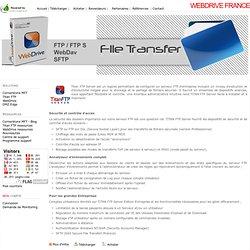 Titan FTP Server - Le Serveur FTP sécurisé Windows pour Enterprise - WebDrive France - Managed File Transfer, Cornerstone MFT, Secure File Transfer