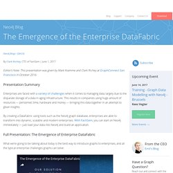 The Emergence of the Enterprise DataFabric - Neo4j Graph Database