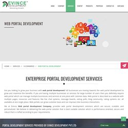 Enterprise Portal Development Services by Experience Developer