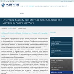 Enterprise Mobility and Development Solutions and Services by Aspire Software