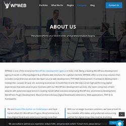 About WPWeb - Enterprise WordPress Development Company