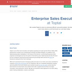 Enterprise Sales Executive