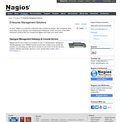 Enterprise Management Solutions
