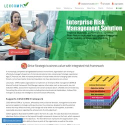 Enterprise Risk Management Solution in India
