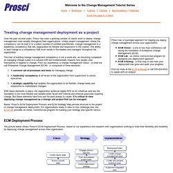 Enterprise Change Management Project