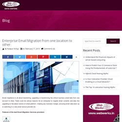 Get the best Email migration from one location to other location