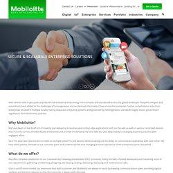 Enterprise Mobility, BI, CMS, ERP, and Cloud Security Services - Mobiloitte