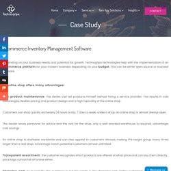 ecommerce conversion optimization using ERP case study