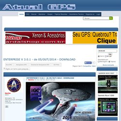 ENTERPRISE V 3.0.1 - de 05/OUT/2014 - DOWNLOAD