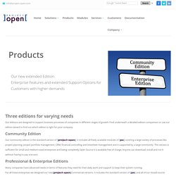 ]project-open[ Enterprise Project Management - Community Edition - Professional Edition - Enterprise Edition