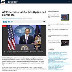 Enterprise: al-Qaida's Syrian cell alarms US