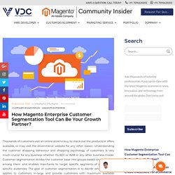 Grow Business with Magento Enterprise Customer Segmentation Tool