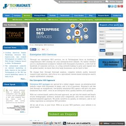 Best Enterprise SEO Services in India by Techmagnate