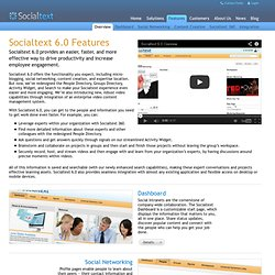 Enterprise Social Software | Socialtext Products