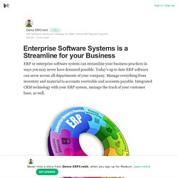 Enterprise Software Systems is a Streamline for your Business