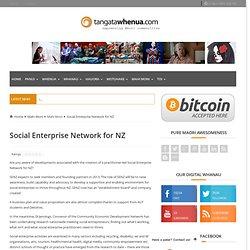 Social Enterprise Network for NZ