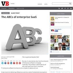 The ABCs of enterprise SaaS