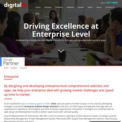 Tailored enterprise solution that helps you achieve your business goals